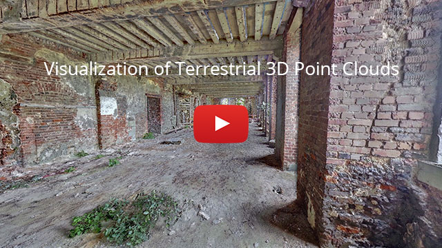 Video: Visualization of Terrestrial 3D Point Clouds