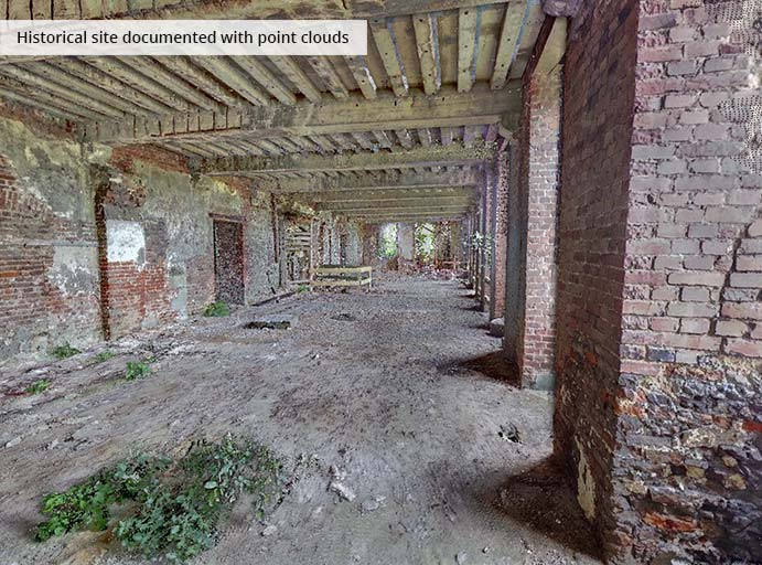 pointcloudtechnology-historical site documented with point clouds